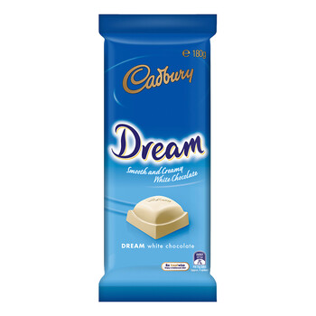 Cadbury Dream Smooth And Creamy White Chocolate 180G - 4052817