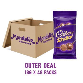 [OUTER DEAL] Cadbury Dairy Milk Chocolate Shots 18G - 4257768X48