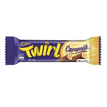 Cadbury Twirl Caramilk Bar Chocolate 39G - 4253179